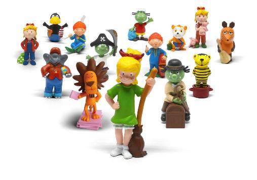 show allot of Tonie figurines